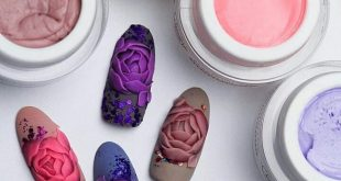 Sculpting is one of the most extravagant nail design options as it gives