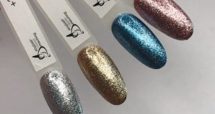 TM glitter gel polishes are just perfect !!! ⠀ With their help, you can overlap