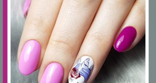 The world has gone crazy about Unicorns This trend could not be missing on the nails