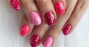 When you can't get enough pink... gel manicures on your natural nails are just £