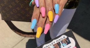 And the trend of 5 diff colors continues ... Cutest trend! DM for appointments o