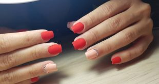 Delicate and beautiful. These nails are a fire! Kapping plus semi red matte comb