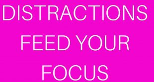 Focus always precedes success.  Success is not possible without a clear focus on