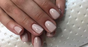 Gel on the hybrid's natural nail plate