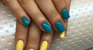 Gel on the natural nail plate colors from