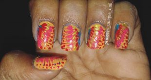 Nailart is a leaning process.  Nailart with bell pin