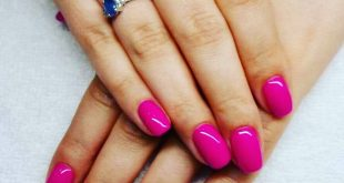 PINK Nails Created in Trendy Nails Fashion KatowiceIcon but still fashionable
