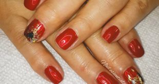 Shellac manicure with nail foil To book click the book button. . All appts requi
