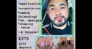 Tag a Nail Artist Deposits can be sent VIA *Cash App *Venmo App or *Zelle App (d