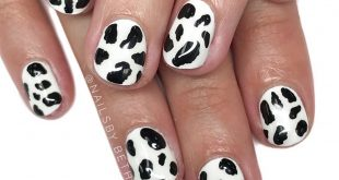 The cutest cow nails I ever did see! I hope everyone has had a safe and happy Me
