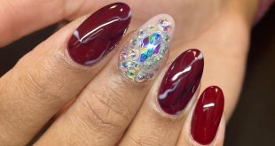 We left the stones from her last mani & added more Booking info in bio ;; MUST r