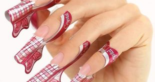 XTREME BUTTERFLY FORM for long and modern nail shapes:  bigger wings  longer ed