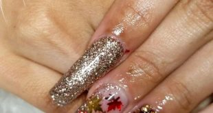 loveeee this color combo!! All by  in the colors •champagne kisses •clearly lik