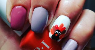 "Did someone say ""Gobble Gobble?"" Nails by Dayana"