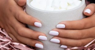 Fall essentials: a perfect mani and hot cocoa ⁠ ⁠ ⁠ Shade:  ⁠ ⁠ ⁠ ⁠ ⁠