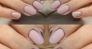 Old pink nails are a must that knows no seasons: that they are with nails d