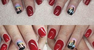 """""""We will remember them"""" nails all ready for remembrance day. Hand painted by Cla"""