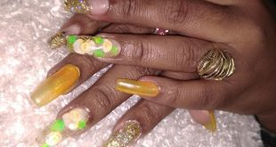 Acrylic Nails Manicurist: Fernanda Branch: La 24 Dec