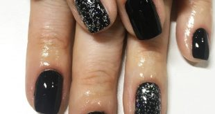 Black black black  . . . .         nailsdesign