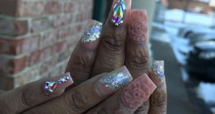 Nails done by MICHAEL( TV NAILS) FOLLOW ME FOR MORE TRENDY NAILS