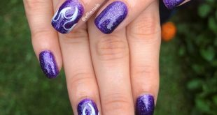 THOSE FIRE.  .  Semi enameled + nail art.  Consult us for the design that most t