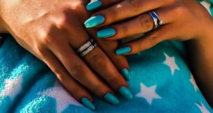 If you've got cool nails, you wake up and you're like, 'Oh, I'm happy now  • •
