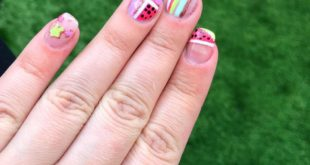 So so so ready for this summer   did these so nicely for me inspired by talented