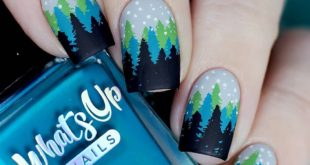 I wanted to repeat this well-known design with Christmas trees. I liked it, le