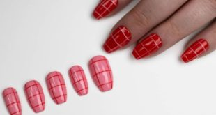 """New set """"Strawberry Fields"""" coming soon  We all know I'm obsessed with a grid lo"""