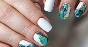 The Nail Look created by Gellifique® Brand Expert. Products used:  Apex Gel -