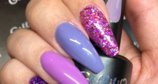 The Nail Look created by Gellifique® Brand Expert. Products used:  Hard Builde