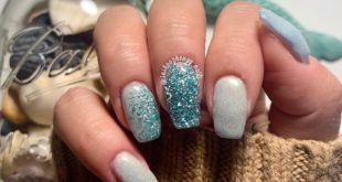 Winter mermaid   . I'm absolutely in love with these 2 colors from  paired toget