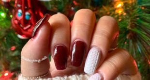 with the amazing, talented, and sweet  for sweater nails! These make me feel s
