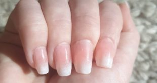 Beautiful French ombre set done  .. these nails never go out of style
