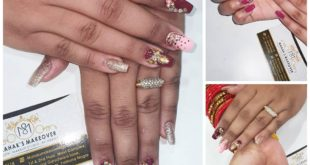 Beautiful nails done by  . BOOK AN APPOINTMENT NOW :- Booking are open for OCTOB