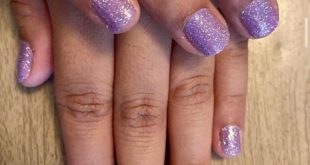 Glamsterdam The Perfect Purple and Glitter  Fresh Mani in minutes   DM me for 10