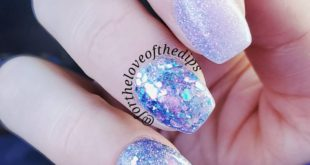 This Mani makes me feel like a Winter Queen  I can't stop looking at it   Produc
