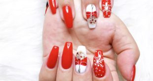 We have Christmas designs for you  manicure pedicure eyelash extensions  An