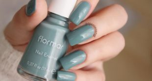 Flormar 497 Celadon Glaze Isn't the color great? If you like it, don't forget to save