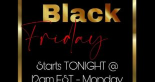 GET READY FOR OUR BLACK FRIDAY SALE!!! STARTS IN LESS THEN TWO HOURS. EVERYTHING