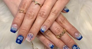I'll prove it to you that winter nails could be very fun - done by Jason