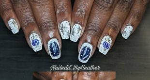 """LOVED doing these today  I used  white pop up gel for a """"sugaring effect"""" which"""