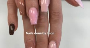Nails done by Leon         promote