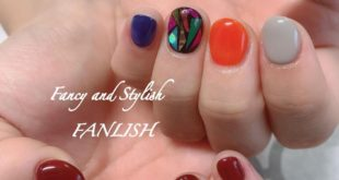 Order Chigu Hug Nail The art like stained glass is cute ♡ .. In charge ★ MIO ..