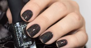 XDanceSky Dead leaves  Black holography with mica spectacular!