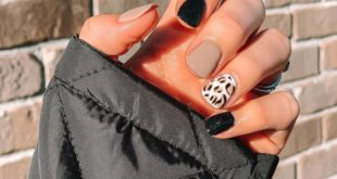 I wanted to go out with a bang for my last fall mani, and I would definitely say